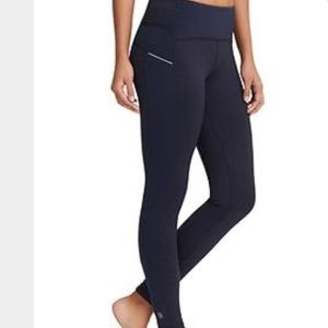 NWT Athleta FLEECE lined Power Lift Tight